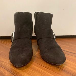 Comfort plus by predictions- Black ankle boots